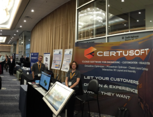 Certusoft at the 2016 SAE COMVEC!