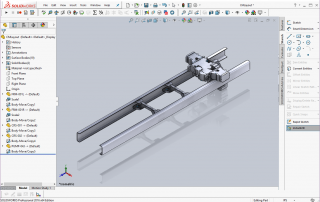 Certusoft CLIK-Layout Optimizer results can be imported into SolidWorks(R)
